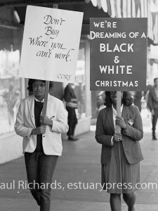 1963, Berkeley, California. CORE pickets Penny's Department Store.