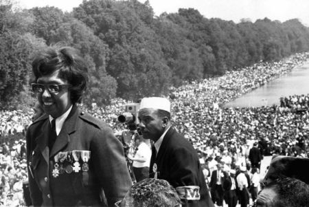 Josephine Baker at the March on Washington, 1963