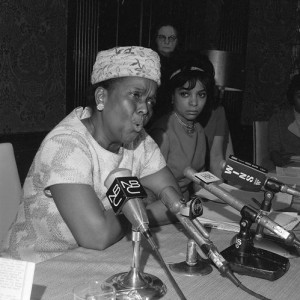 Ella Baker, 1968. AP photo.
